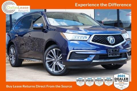 2019 Acura MDX for sale at Dallas Auto Finance in Dallas TX