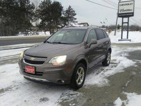 2012 Chevrolet Captiva Sport for sale at KATAHDIN MOTORS INC /  Chevrolet Sales & Service in Millinocket ME