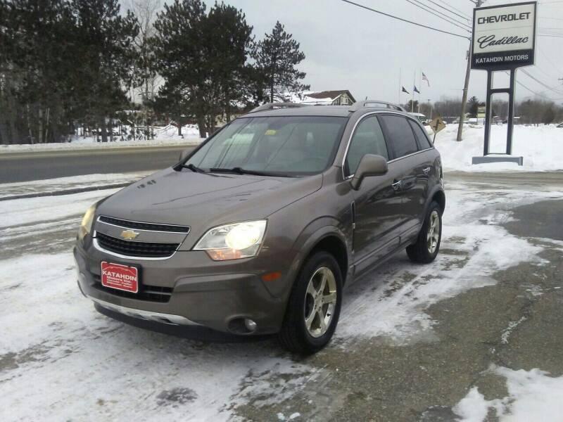 2012 Chevrolet Captiva Sport for sale at KATAHDIN MOTORS INC /  Chevrolet & Cadillac in Millinocket ME