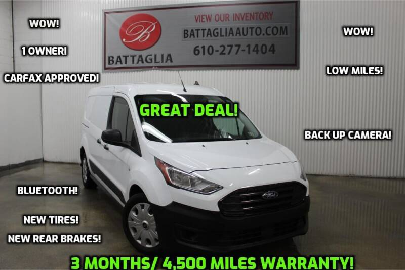 2019 Ford Transit Connect Cargo for sale at Battaglia Auto Sales in Plymouth Meeting PA