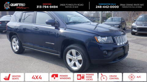 2014 Jeep Compass for sale at Quattro Motors 2 in Farmington Hills MI