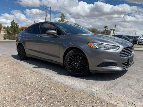 2014 Ford Fusion for sale at Boktor Motors in Las Vegas NV
