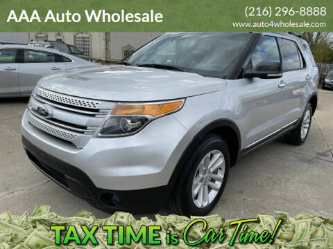 2013 Ford Explorer for sale at AAA Auto Wholesale in Parma OH