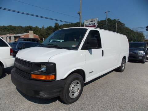 2006 Chevrolet Express Cargo for sale at Deer Park Auto Sales Corp in Newport News VA