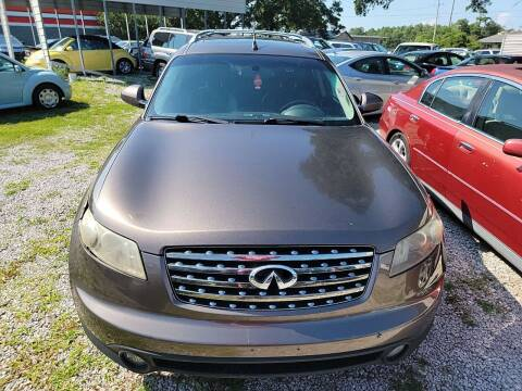 2005 Infiniti FX35 for sale at Wally's Cars ,LLC. in Morehead City NC