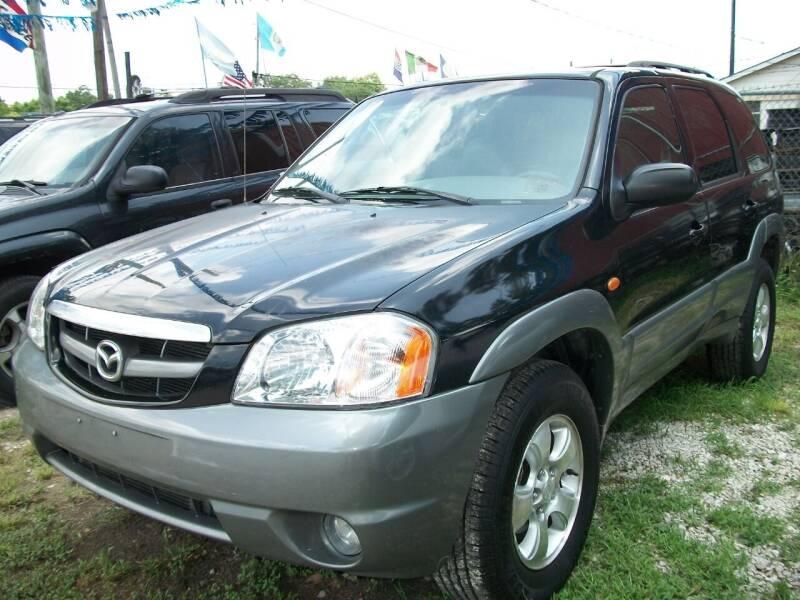 2001 Mazda Tribute for sale at THOM'S MOTORS in Houston TX