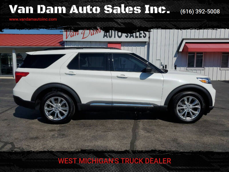2020 Ford Explorer for sale at Van Dam Auto Sales Inc. in Holland MI