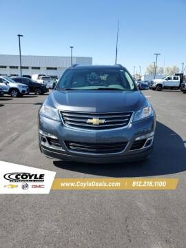 2014 Chevrolet Traverse for sale at COYLE GM - COYLE NISSAN - New Inventory in Clarksville IN