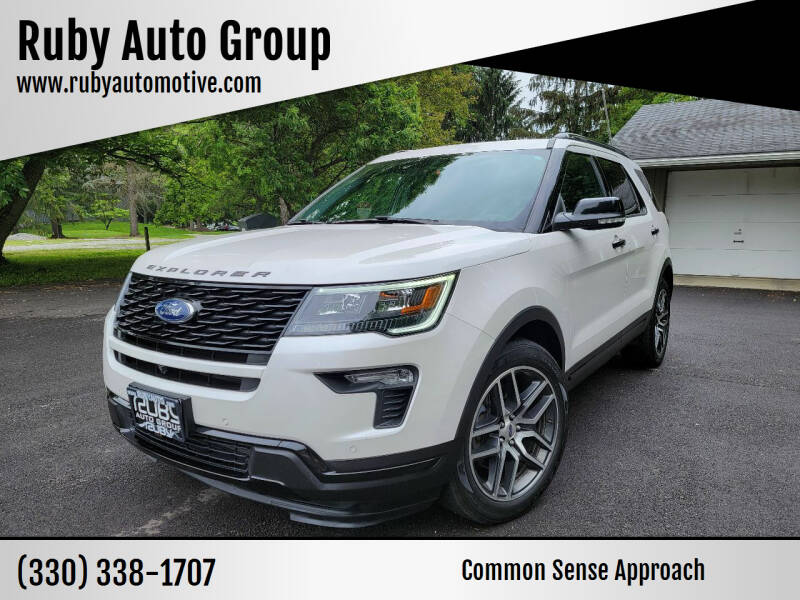 2018 Ford Explorer for sale at Ruby Auto Group in Hudson OH