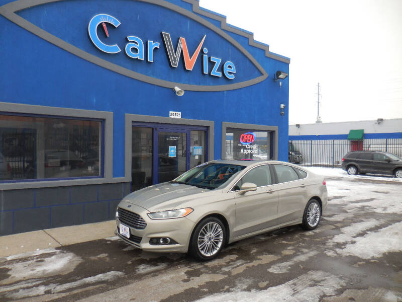 2015 Ford Fusion for sale at Carwize in Detroit MI