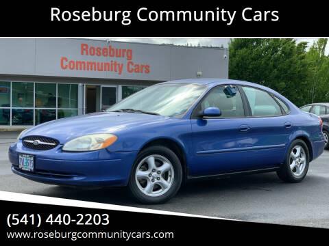 2003 Ford Taurus for sale at Roseburg Community Cars in Roseburg OR