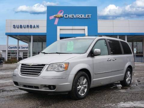 2008 Chrysler Town and Country for sale at Suburban Chevrolet of Ann Arbor in Ann Arbor MI