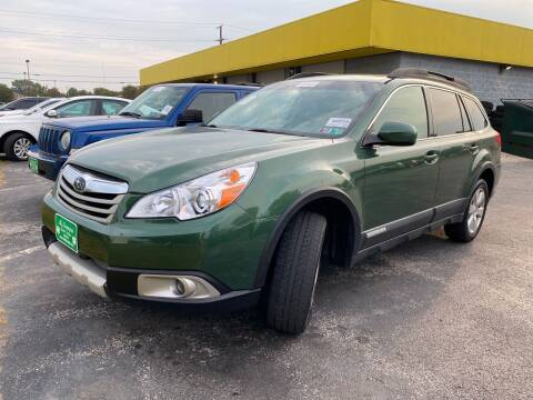 2010 Subaru Outback for sale at McNamara Auto Sales - Kenneth Road Lot in York PA