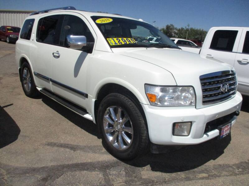 2010 Infiniti QX56 for sale at Advantage Auto Brokers Inc in Greeley CO