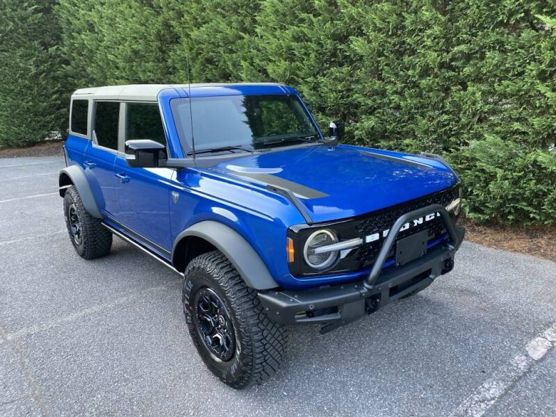 2021 Ford Bronco for sale at Limitless Garage Inc. in Rockville MD