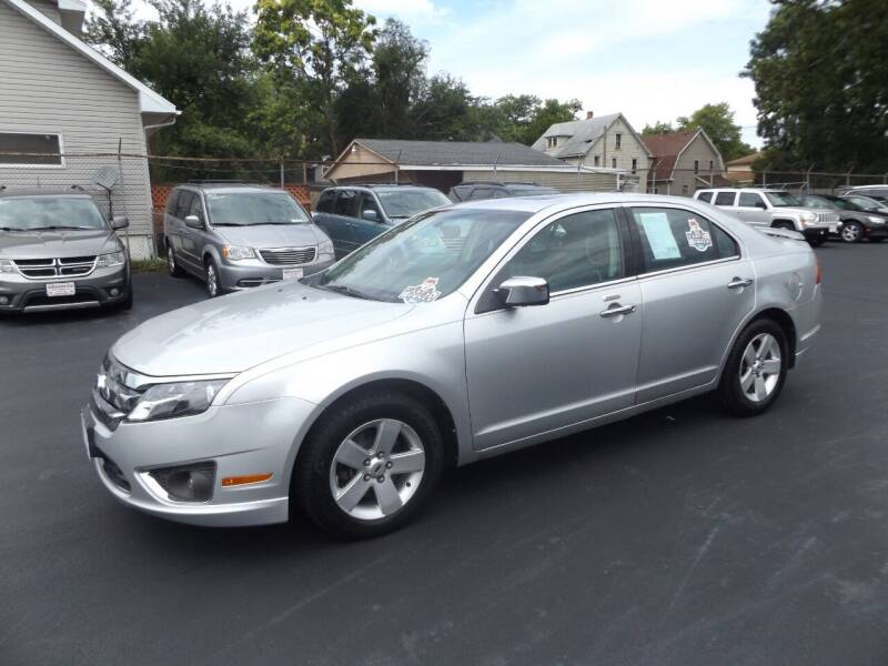 2011 Ford Fusion for sale at Goodman Auto Sales in Lima OH
