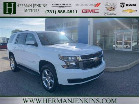 2016 Chevrolet Tahoe for sale at Herman Jenkins Used Cars in Union City TN