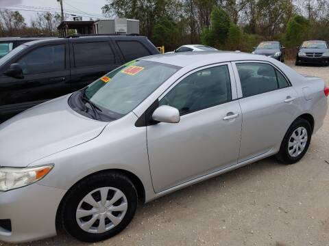 2010 Toyota Corolla for sale at Finish Line Auto LLC in Luling LA