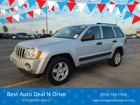 2005 Jeep Grand Cherokee for sale at Best Auto Deal N Drive in Hollywood FL