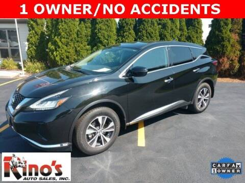 2019 Nissan Murano for sale at Rino's Auto Sales in Celina OH