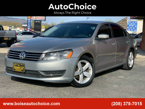 2013 Volkswagen Passat for sale at AutoChoice in Boise ID