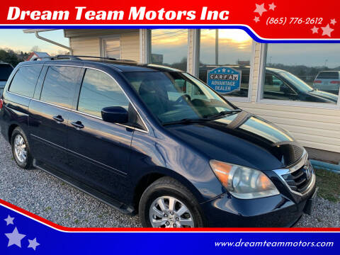 2008 Honda Odyssey for sale at Dream Team Motors Inc in Seymour TN