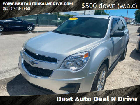 2013 Chevrolet Equinox for sale at Best Auto Deal N Drive in Hollywood FL