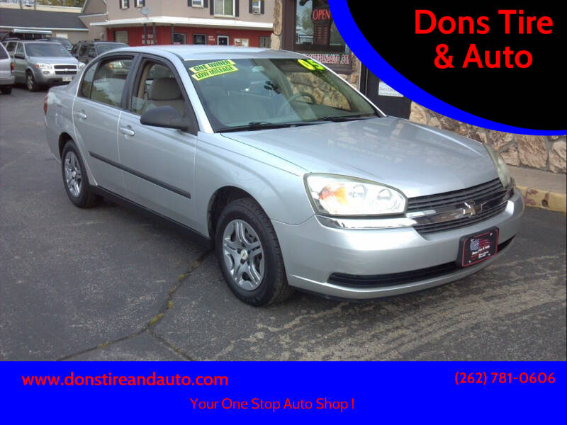 2005 Chevrolet Malibu for sale at Dons Tire & Auto in Butler WI