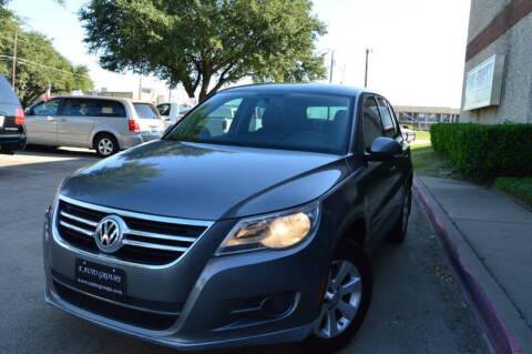 2010 Volkswagen Tiguan for sale at E-Auto Groups in Dallas TX