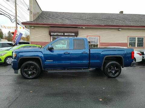 2017 GMC Sierra 1500 for sale at Shattuck Motors in Newport VT