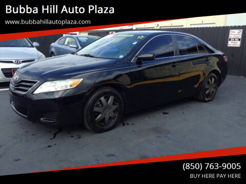 2011 Toyota Camry for sale at Bubba Hill Auto Plaza in Panama City FL
