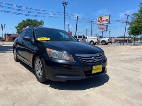 2012 Honda Accord for sale at Russell Smith Auto in Fort Worth TX