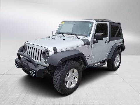 2011 Jeep Wrangler for sale at Fitzgerald Cadillac & Chevrolet in Frederick MD