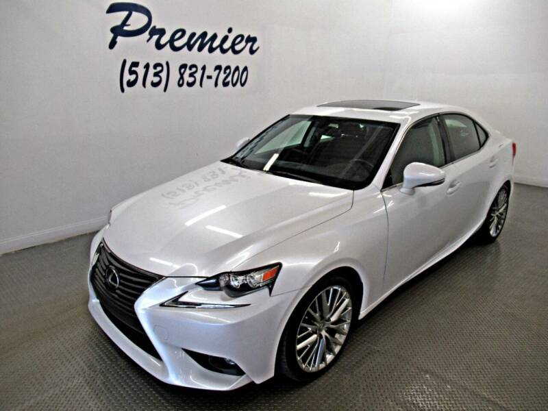 2016 Lexus IS 300 for sale at Premier Automotive Group in Milford OH