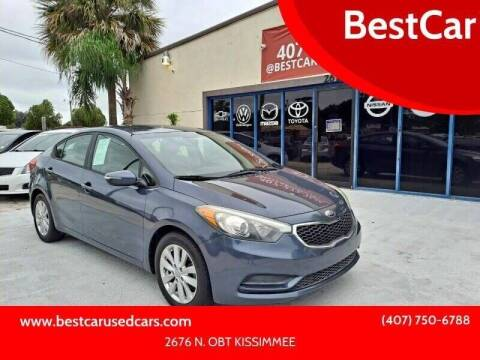 2014 Kia Forte for sale at BestCar in Kissimmee FL