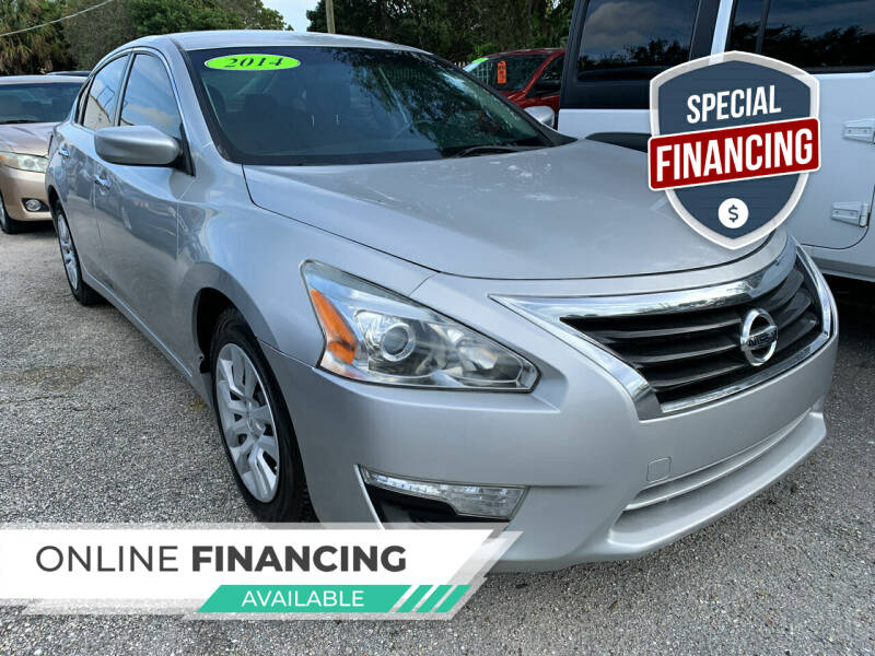 2014 Nissan Altima for sale at Bargain Auto Sales in West Palm Beach FL