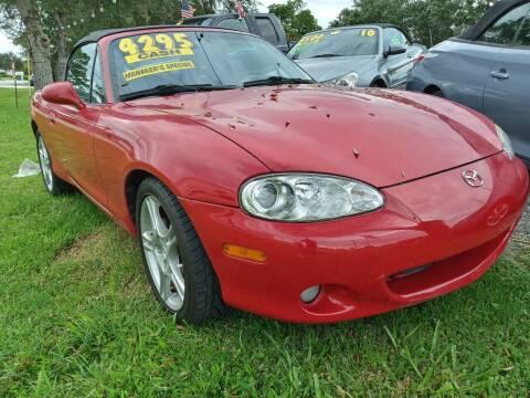 2005 Mazda MX-5 Miata for sale at AFFORDABLE AUTO SALES OF STUART in Stuart FL