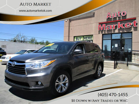2014 Toyota Highlander for sale at Auto Market in Oklahoma City OK