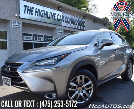 2015 Lexus NX 200t for sale at The Highline Car Connection in Waterbury CT