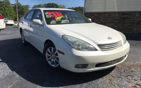 2004 Lexus ES 330 for sale at No Full Coverage Auto Sales in Austell GA