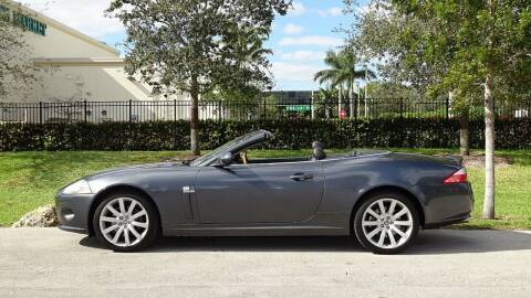 2007 Jaguar XK-Series for sale at Premier Luxury Cars in Oakland Park FL