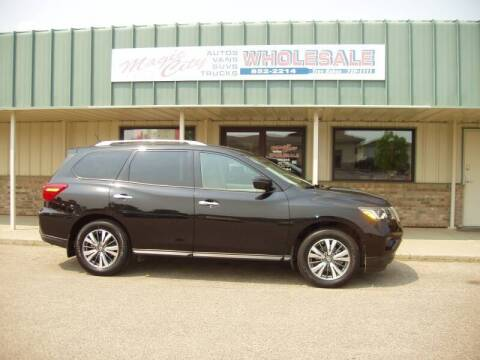 2017 Nissan Pathfinder for sale at Magic City Wholesale in Minot ND