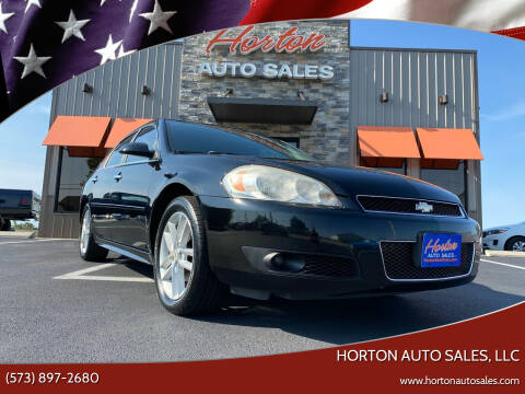 2012 Chevrolet Impala for sale at HORTON AUTO SALES, LLC in Linn MO