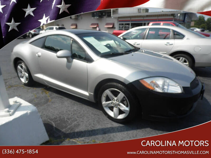 2012 Mitsubishi Eclipse for sale at CAROLINA MOTORS in Thomasville NC