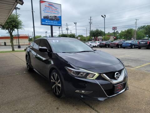2016 Nissan Maxima for sale at Magic Auto Sales in Dallas TX
