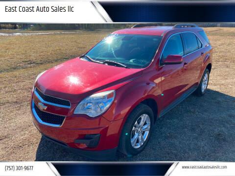2015 Chevrolet Equinox for sale at East Coast Auto Sales llc in Virginia Beach VA