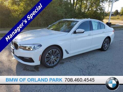 2018 BMW 5 Series for sale at BMW OF ORLAND PARK in Orland Park IL