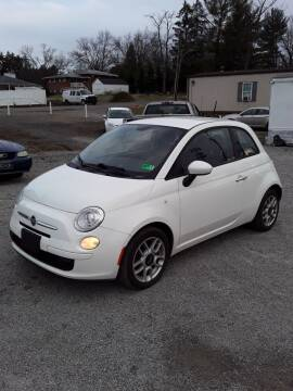 2013 FIAT 500 for sale at STAR CITY PRE-OWNED in Morgantown WV