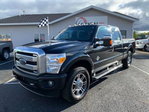 2014 Ford F-250 Super Duty for sale at Action Motor Sales in Gaylord MI