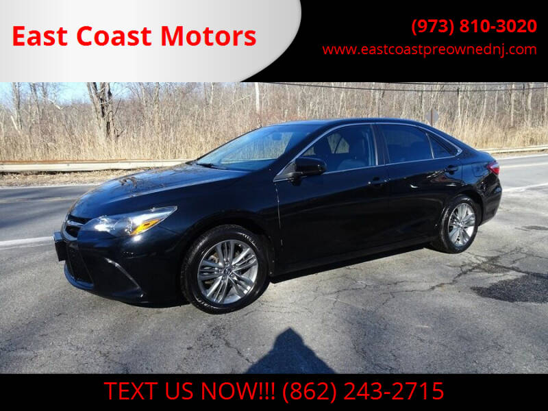 2015 Toyota Camry for sale at East Coast Motors in Lake Hopatcong NJ